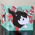 Kustom Kitty Illustrations Christmas Card